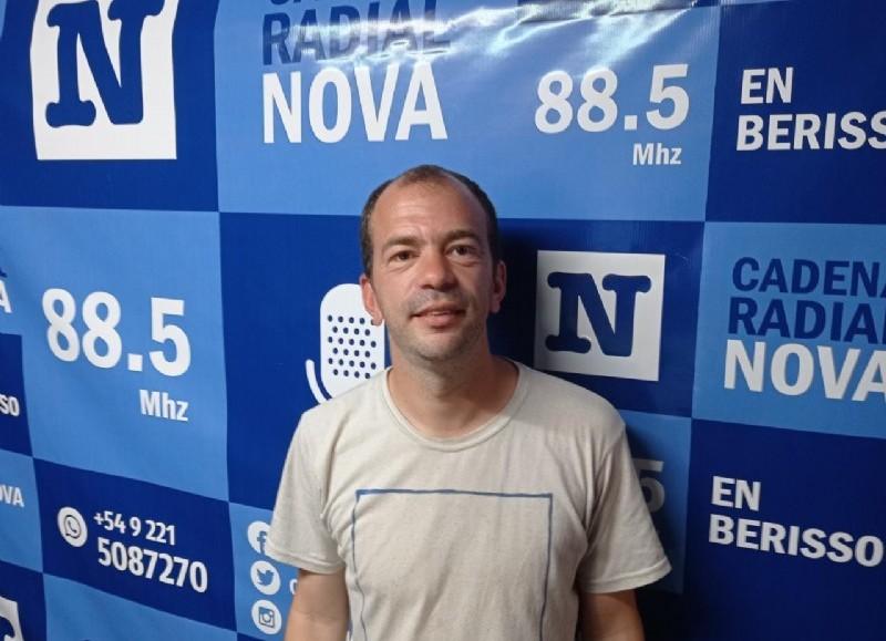 Antonio Ligari, candidato a concejal por el FdT.