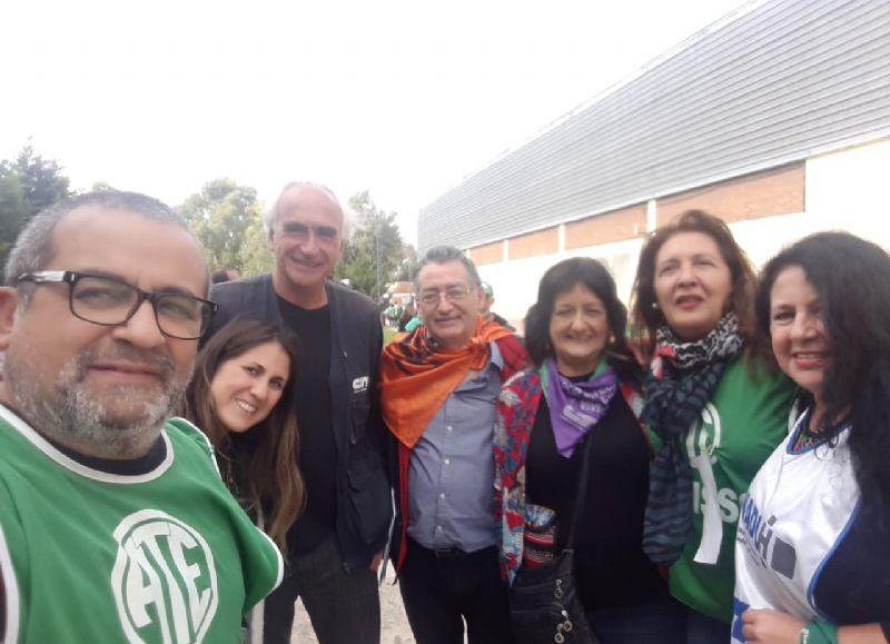Plenario en el Sindicato de Obras Sanitarias bonaerenses.