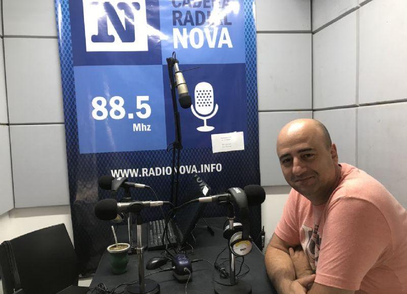 Claudio Crivaro, coordinador del área.