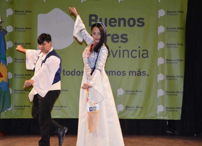 La 41ª Fiesta Provincial del Inmigrante tuvo su presentación formal a nivel bonaerense en la Casa de la Provincia, en la que las colectividades mostraron su cultura y tradiciones.