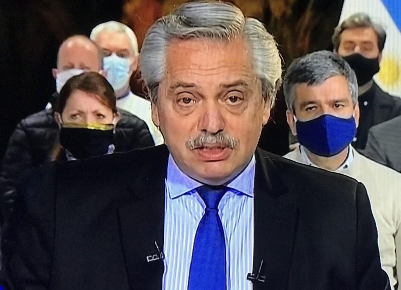 Mensaje desde Olivos con la presencia del intendente berissense.