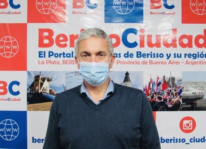 Gabriel Bruno, ahora exsecretario de Economía de Berisso.