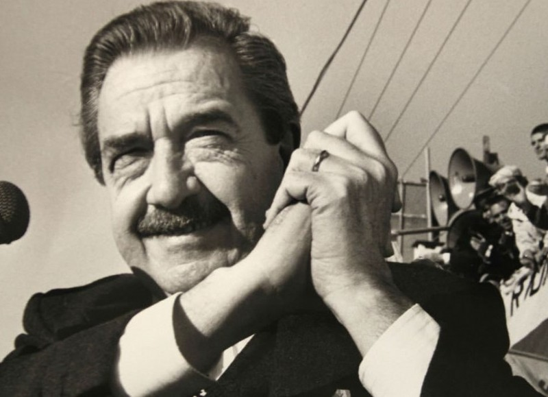 Raúl Alfonsín.