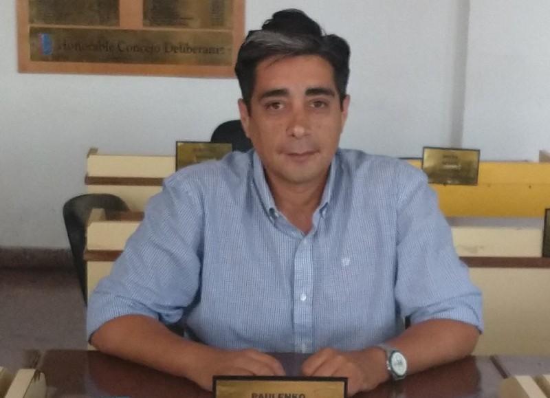Alejandro Paulenko, concejal del Frente de Todos.
