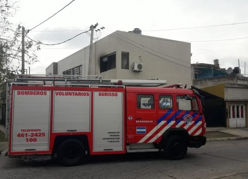 Controlado por los bomberos.