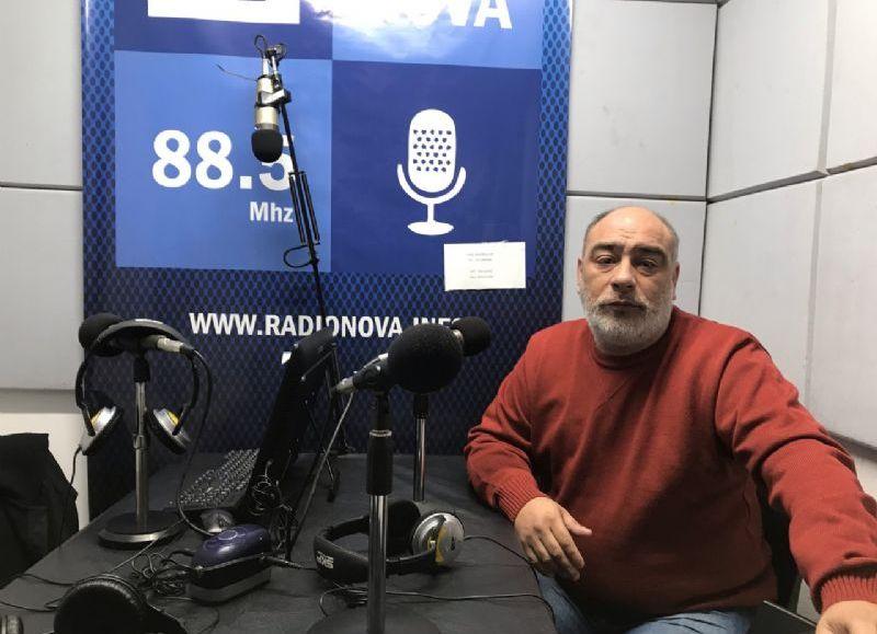 El precandidato a intendente por Consenso Federal, en el aire de Cadena Radial NOVA.