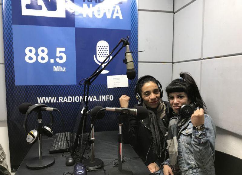 La historia de vida de la niña, en el aire de BerissoCiudad en Radio.