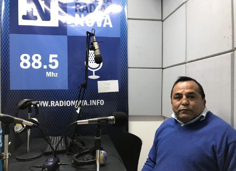 El consejero escolar y economista, en el aire de BerissoCiudad en Radio.