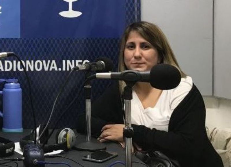 Mara González, actual secretaria adjunta.