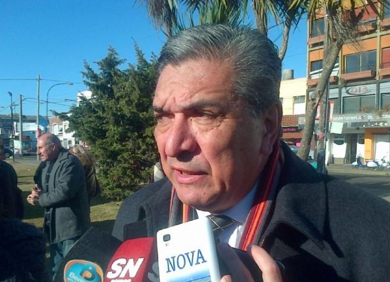 Enrique Slezack, intendente mandato cumplido (foto de archivo).