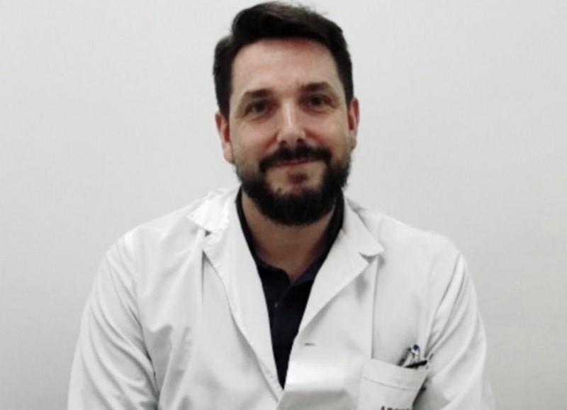 Santiago Ramírez Borga, secretario de Salud.