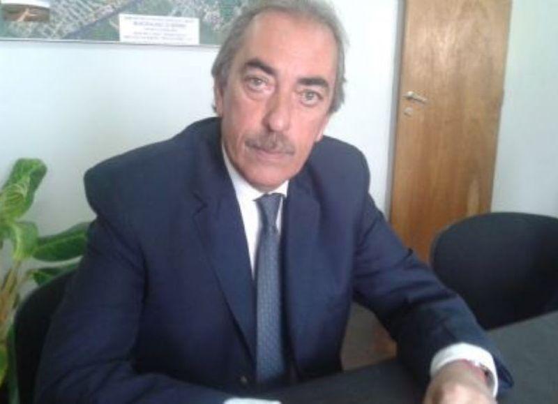 Alfredo Zanaroni, director del nosocomio local.