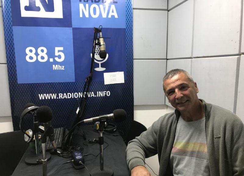 El secretario general Miguel Pujol, en el aire de BerissoCiudad.