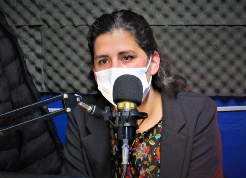 Abogada, candidata a edil y referente de la organización Las Juanas
