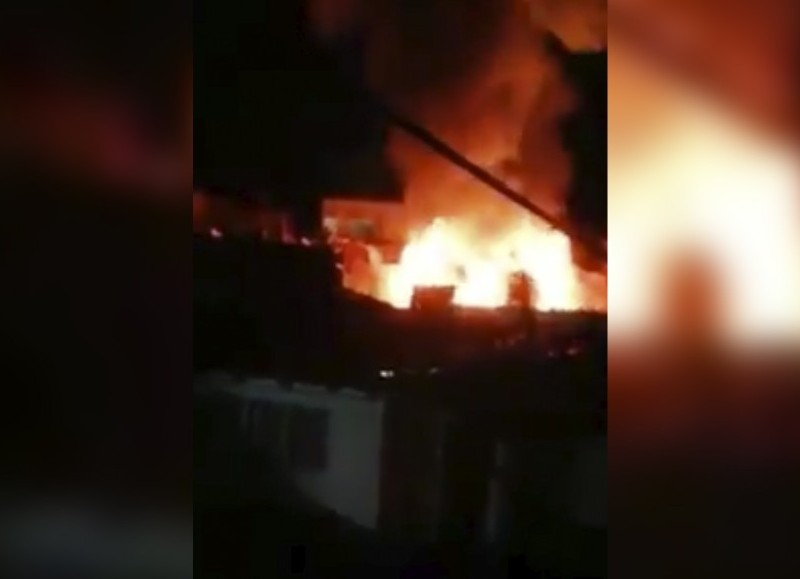 Arrasador incendio (imagen: Trama Urbana).