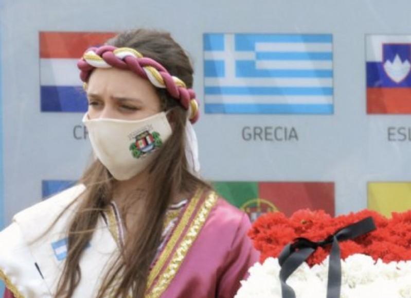 Gianna, Embajadora Cultural de la Colectividad