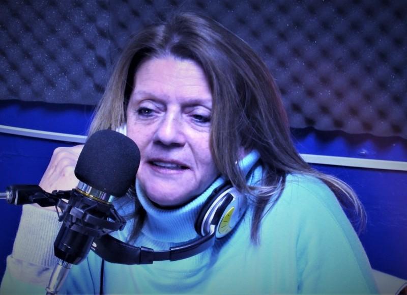 Elsa Lara, precandidata a diputada provincial por el Frente Vamos con Vos.