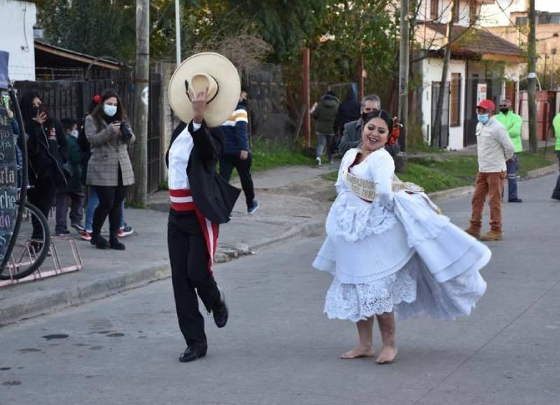 Bailes típicos.
