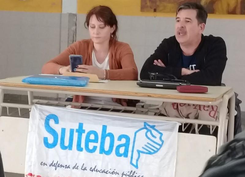 La postura del SUTEBA.