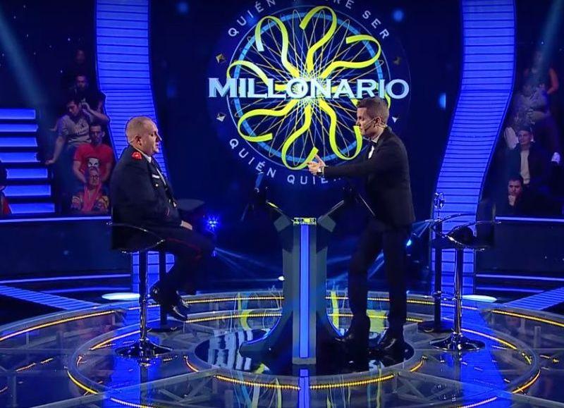 Los Bomberos de Berisso en la televisión nacional.