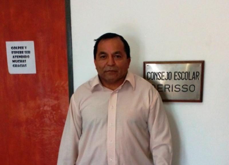 Omar Medina, consejero escolar del PRO.
