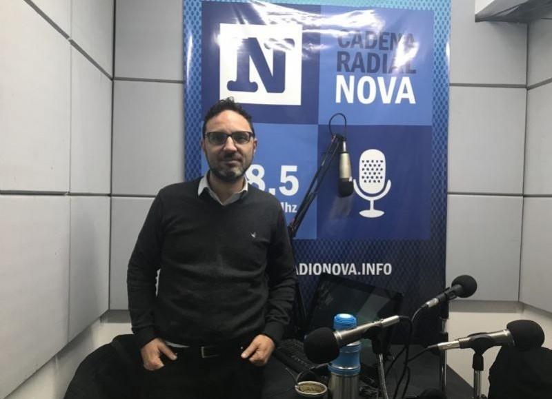 Sebastián Mincarelli, concejal del Frente de Todos.
