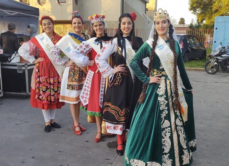 Las Representantes Culturales.