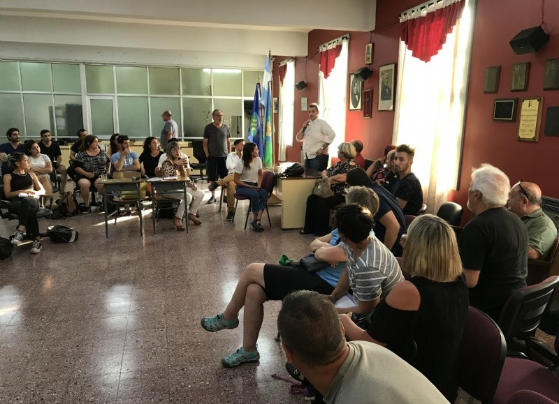 Intercambio de pareceres en el Concejo Deliberante.