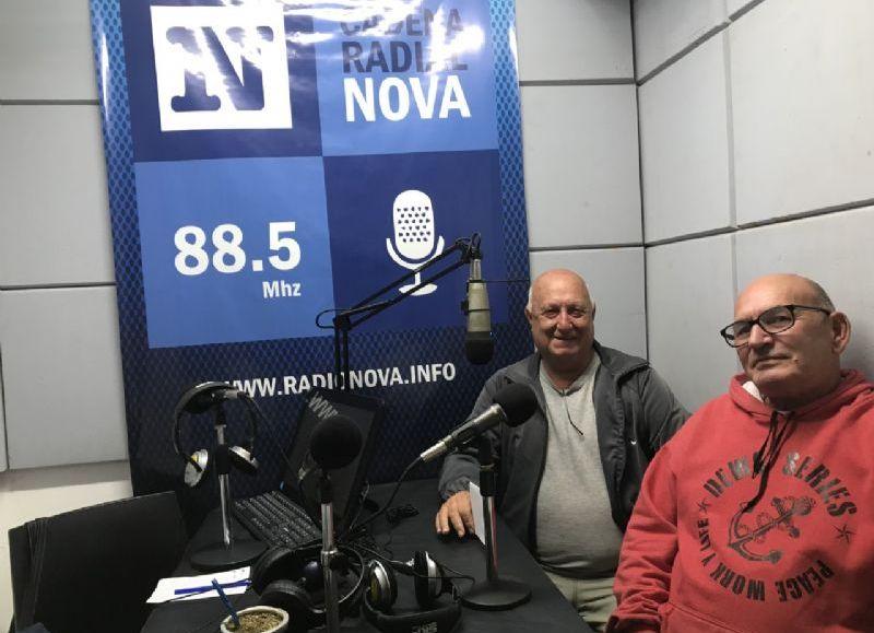Horacio Pomi y Daniel Cipollone.