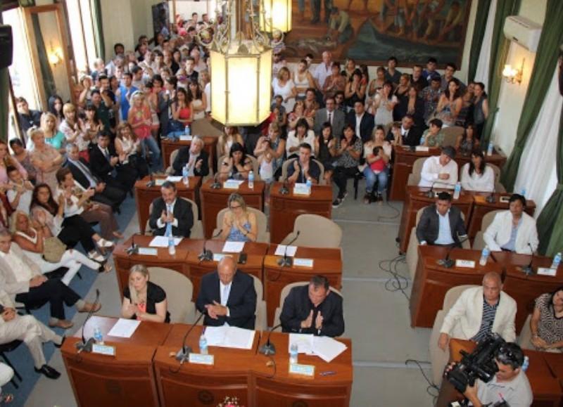 El Concejo Deliberante de Ensenada.