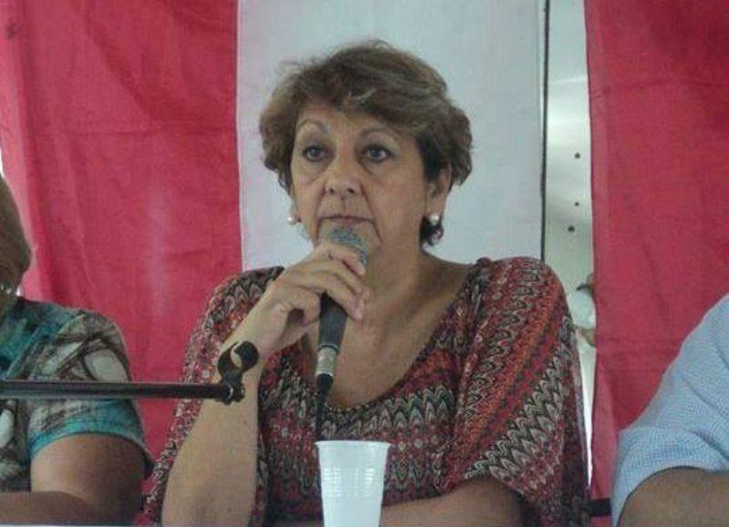 Ana Lara, directora de Acción Social.