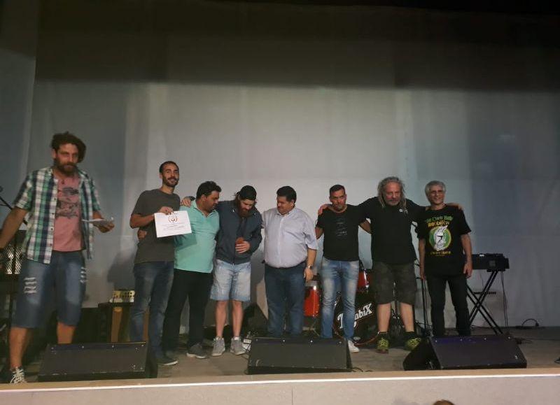 Premiación a los productores.