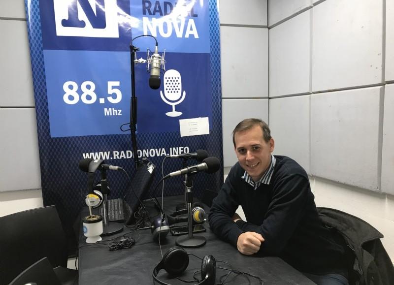 Leo Galosi, referente de Identidad Albinegra.