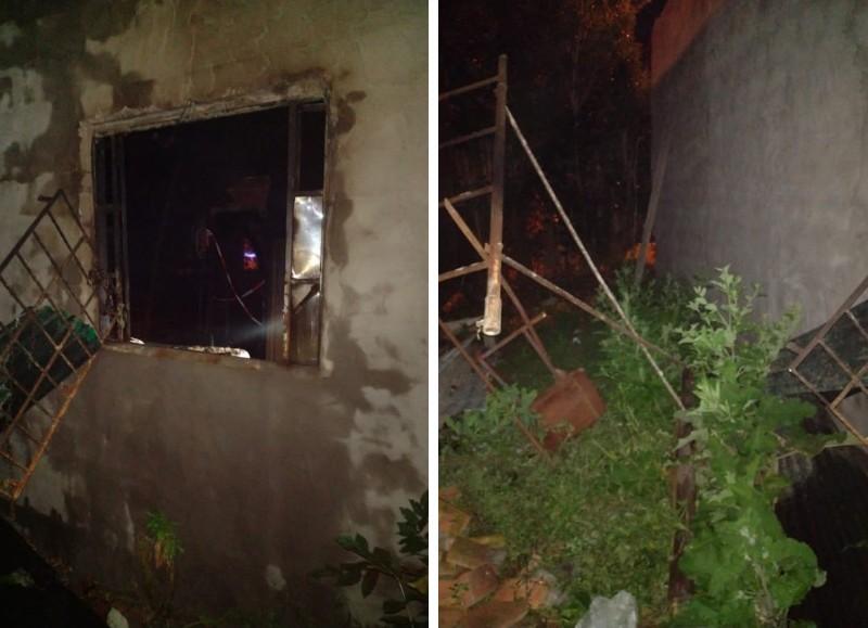 Todo parece indicar que la víctima se encerró en una habitación y prendió fuego una moto de su propiedad, pero las llamas se propagaron y el hombre quedó atrapado.