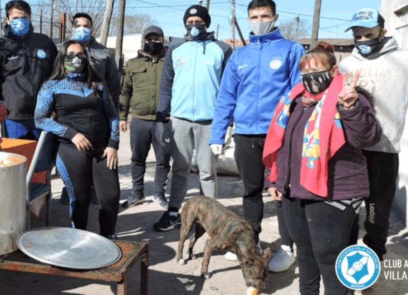 Meses de intensa labor solidaria (foto: Prensa del Club).