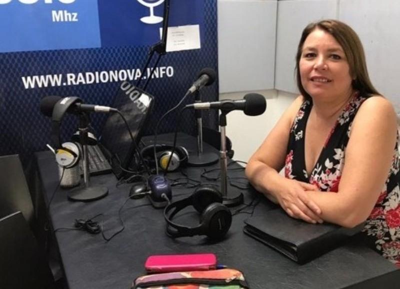 Claudia Vivas, referente de la ONG Decir Basta.