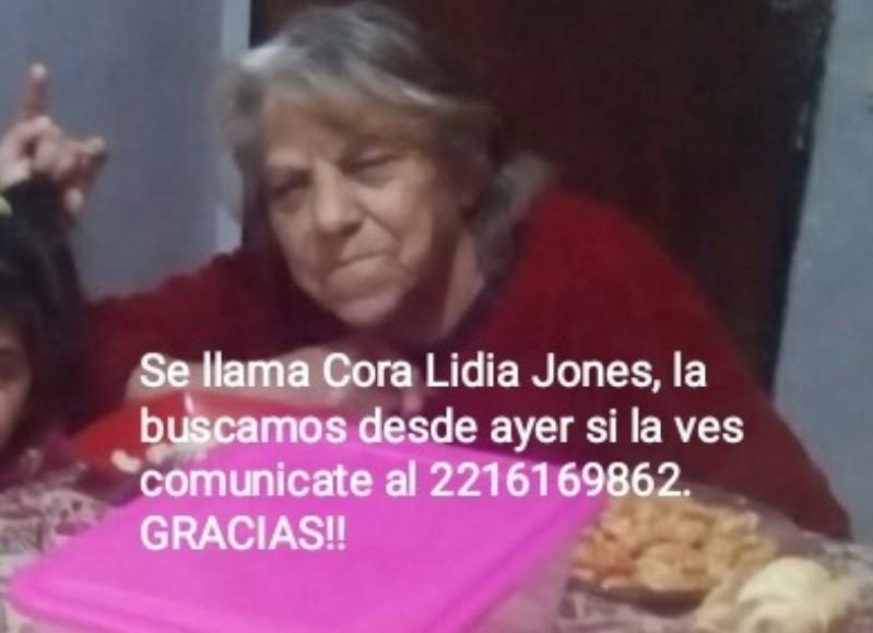 Lidia Cora Jones.