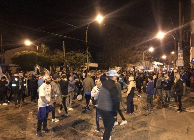 Montevideo y 25, sede de VSC