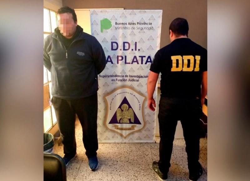 Este sábado quedó detenido Esteban González.