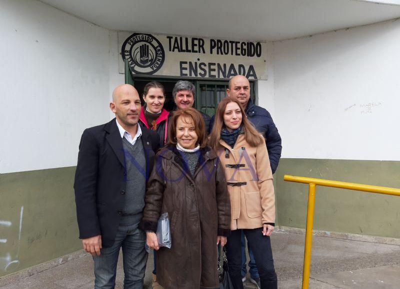 "La candidata a senadora por la tercera sección electoral, Hilda ""Chiche"" Duhalde. (Foto: Isabel Marin- NOVA)"
