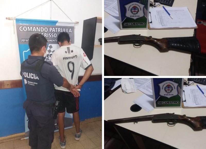 El sujeto estaba armado y se resistió a la detención.