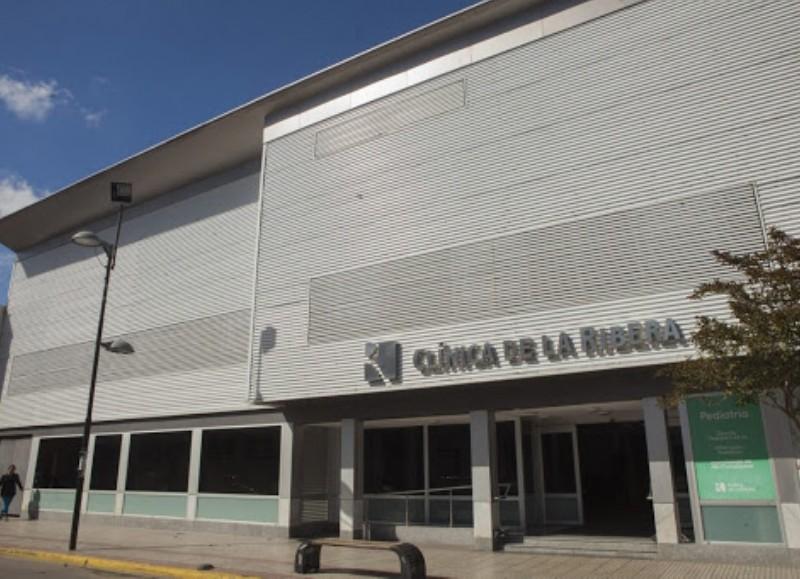 La mujer de 90 años estaba internada en la Clínica de la Ribera.