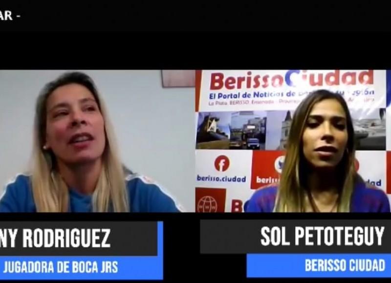 La jugadora de Boca Juniors, en diálogo con BerissoCiudad.