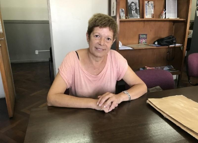 La concejal Miriam 'Pelusa' Larrañaga.