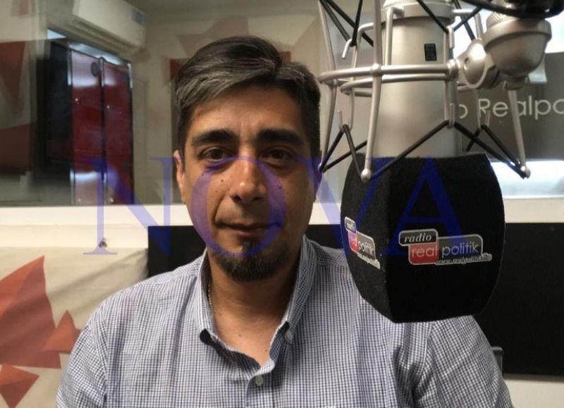 Alejandro Paulenko, concejal de Berisso por Unidad Ciudadana. (Foto: NOVA)