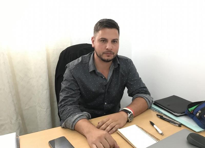 Lucas Spivak, responsable del área.