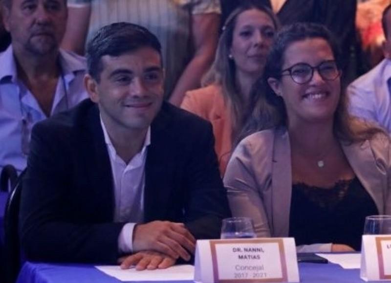 Matías Nanni, titular del bloque de Juntos por el Cambio.