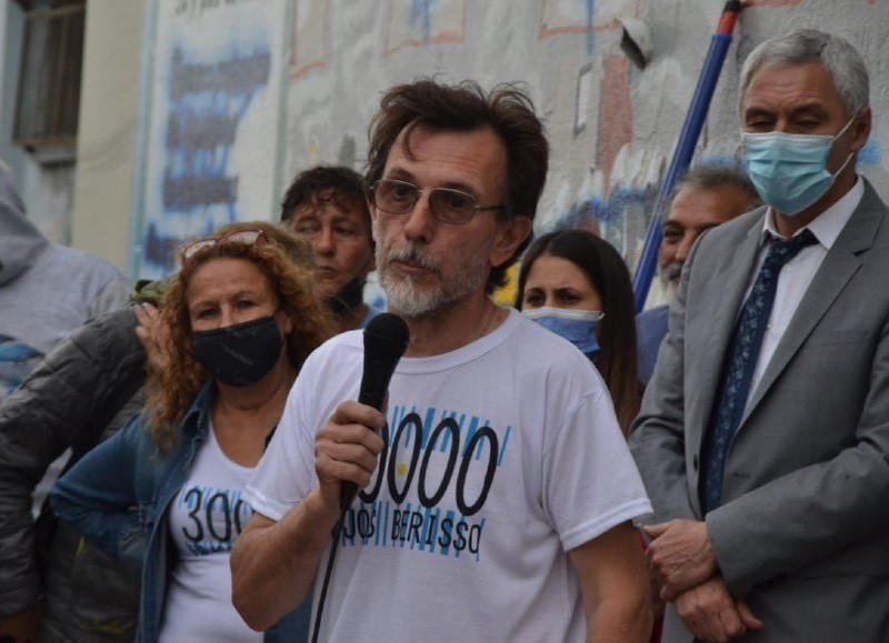 La palabra de Rubén López.