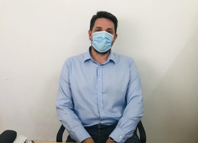 Santiago Ramírez Borga, secretario de Salud