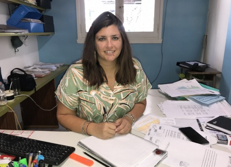 Victoria Curutchet, directora de Recursos Humanos de la comuna.